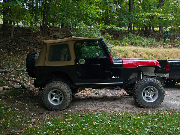 Yj With No Fender Flares Jeep Wrangler Forum